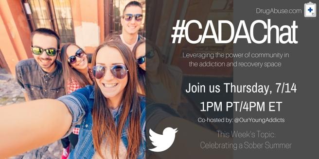 #CADAChat 67 Twitter