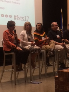 FSTS17 Panel 1 with Judy Hanson second from left